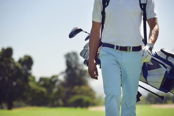 Ditch The Golf Cart and Walk The Course Instead!