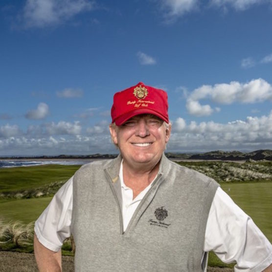 Trump Finally Gets To Build a Wall - At an Irish Golf Course