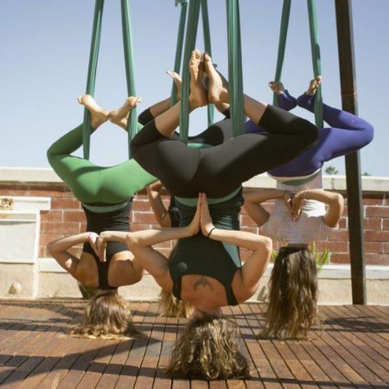 Anti-Gravity Yoga Will Help You Improve Your Health & Golf Game